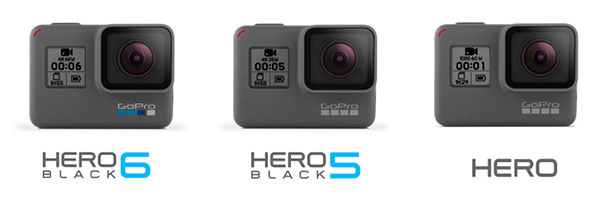 Compatibilità GoPro The Frame