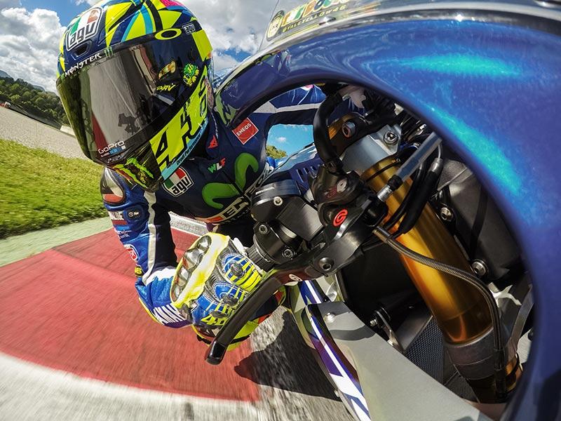 GoPro Guaina + Cordino Valentino Rossi Edition