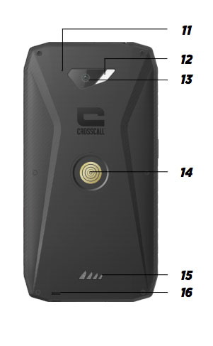 Crosscall Action-X3 specifiche tecniche