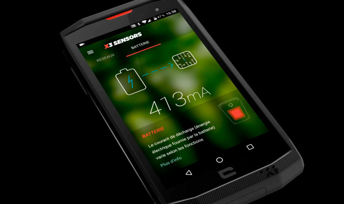 Crosscall Trekker-X3 | Smartphone Android 32GB
