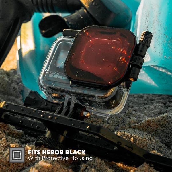 PolarPro Filtro Rosso per GoPro HERO8 Black