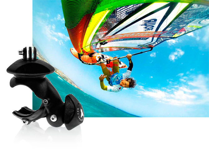 Flymount Supporto Barra Tubolare GoPro