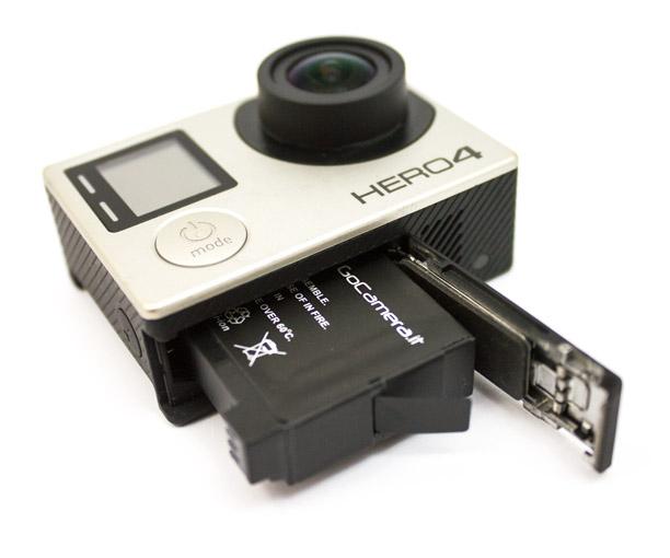 GoCamera Batteria per GoPro HERO4