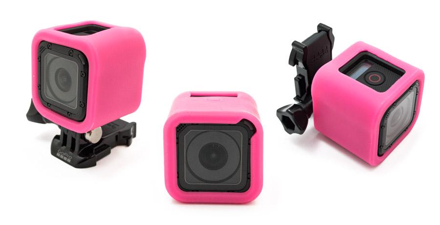 GoCamera Bumper Cover Kit Pink per GoPro Session
