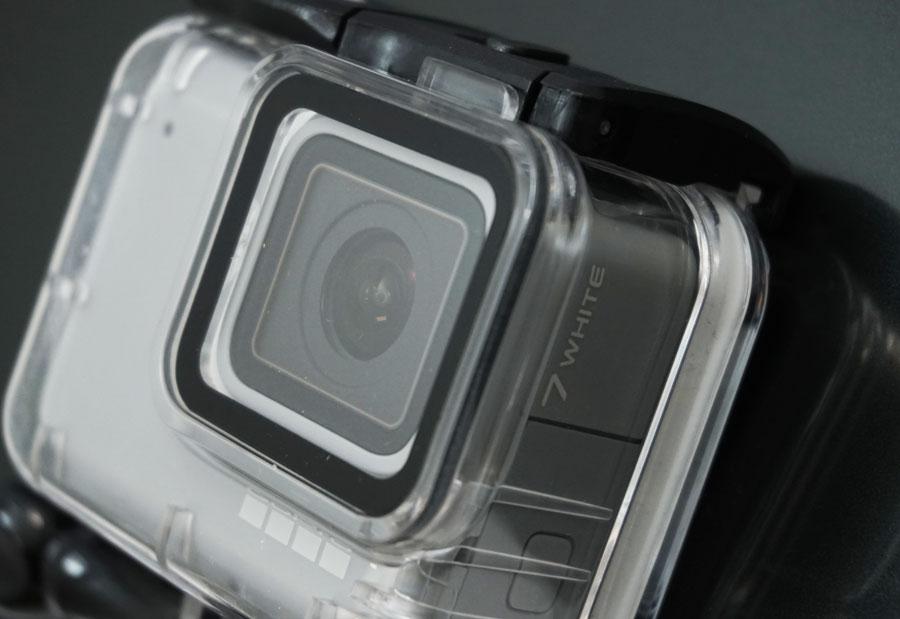 GoCamera Dive Case 45m per GoPro HERO7 Silver e White