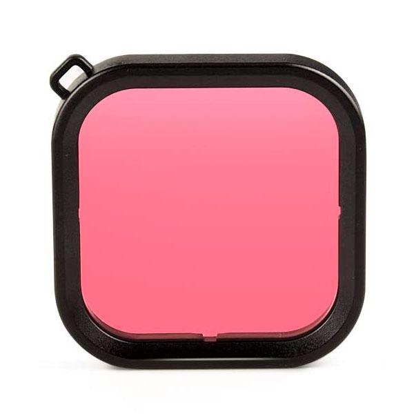 filtro rosa case gopro hero 8