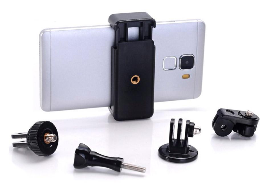 GoCamera Kit di adattatori per GoPro e Smartphone