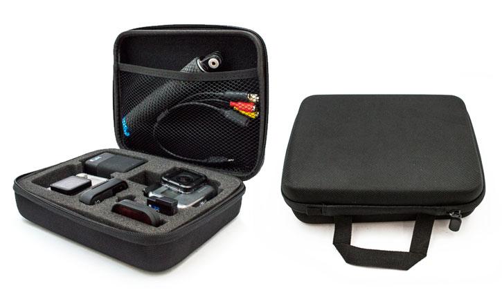custodia semirigida trasporto e protezione GoPro