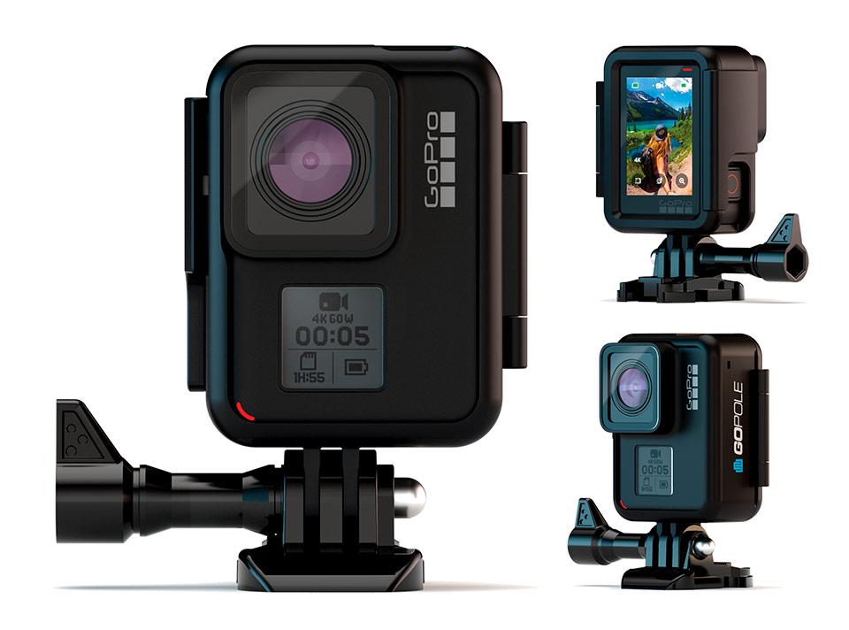 GoPole Frame Verticale per GoPro HERO7