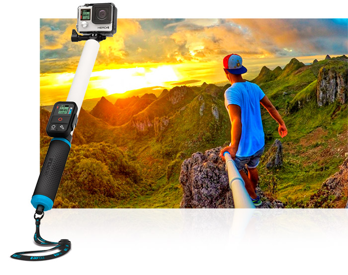 asta estensibileper GoPro