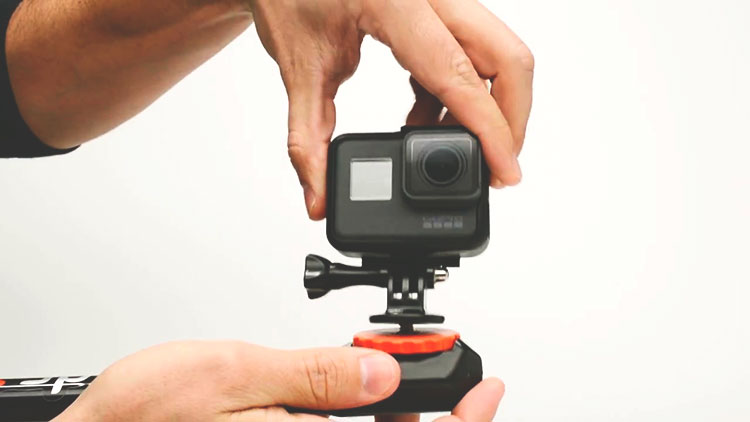 Spivo Stick, l'asta rotante per GoPro