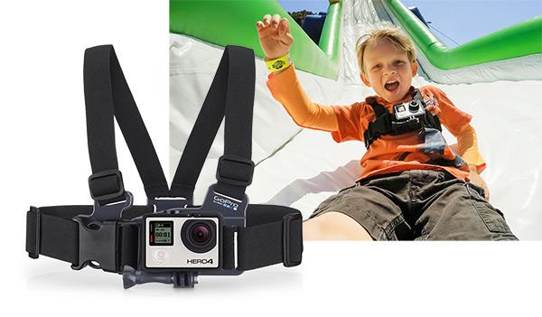 GoPro Chesty Junior Fissaggio a Pettorina Piccolo