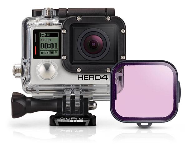GoPro Filtro Magenta Case Dive 60m