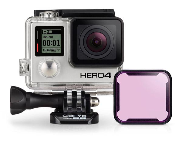 GoPro Filtro Magenta Case Standard 40m