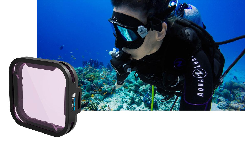 GoPro Filtro Magenta per HERO7 Black