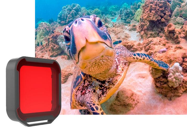 PolarPro Filtro Rosso per Case Super Suit