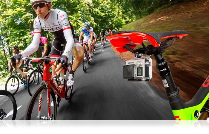 GoPro Fissaggio per sellino ciclisti