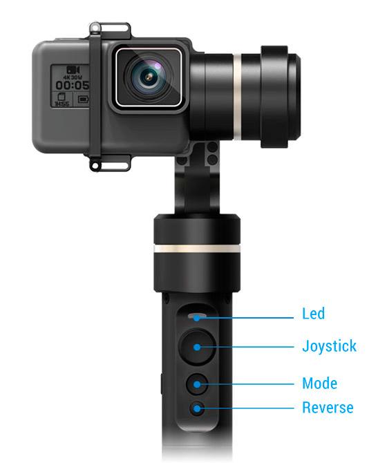 FeiyuTech G5 Gimbal Impermeabile per GoPro