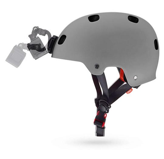supporto gopro per fissaggio frontale casco