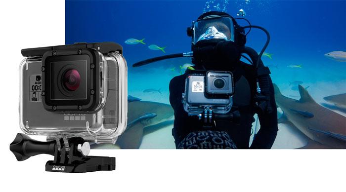 custodia protettiva e da immersione per HERO6 Black