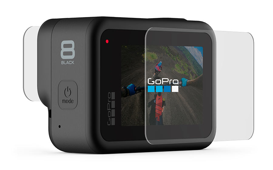 GoPro Lenti + Salvaschermo in vetro temperato per HERO8