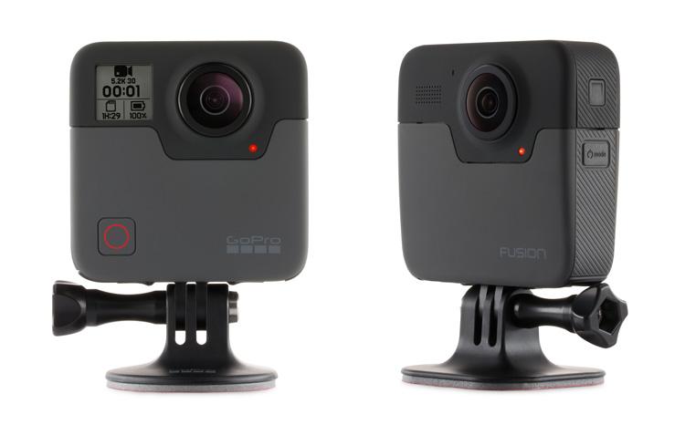 GoPro supporti adesivi per Fusion