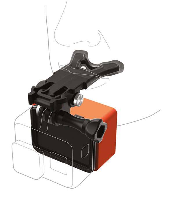 GoPro Supporto da bocca + Floaty per GoPro HERO6 e HERO6 Black