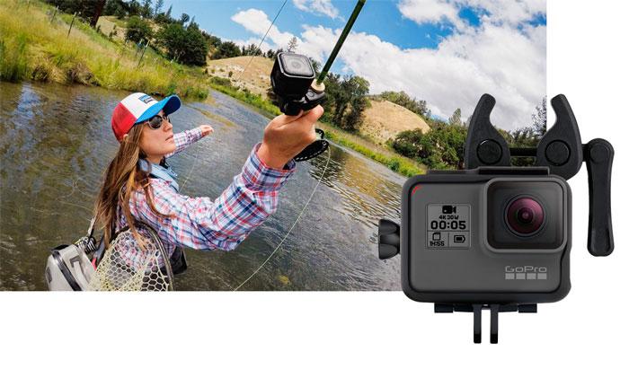 GoPro Supporto per fucile, arco e canna da pesca