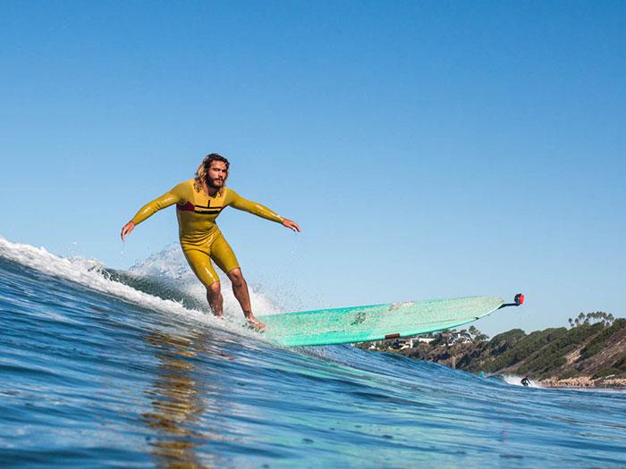 supporto gopro per tavola surf e sup