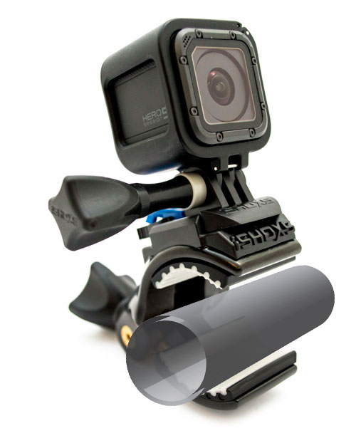 iSHOXS Cobra supporto tubolare con prolunga per GoPro