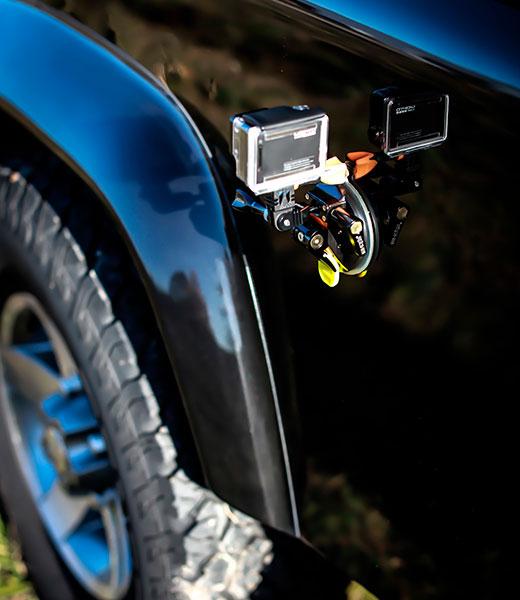 iSHOXS Supporto a ventosa in alluminio per GoPro