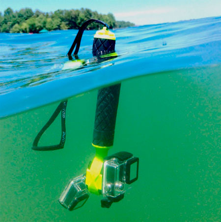 impugnatura galleggiante gopro