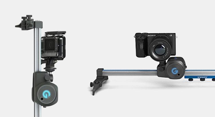 GripGear slider elettronico per GoPro e smartphone