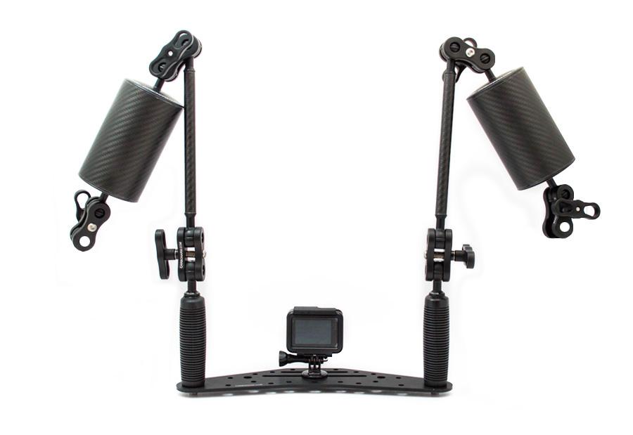 Kit Completo Subacquea GoPro con Luci Professional