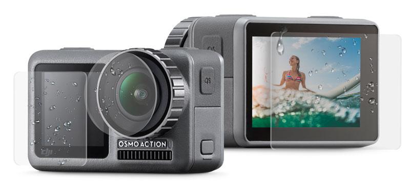 XClear pellicole idrorepellenti per DJI Osmo Action