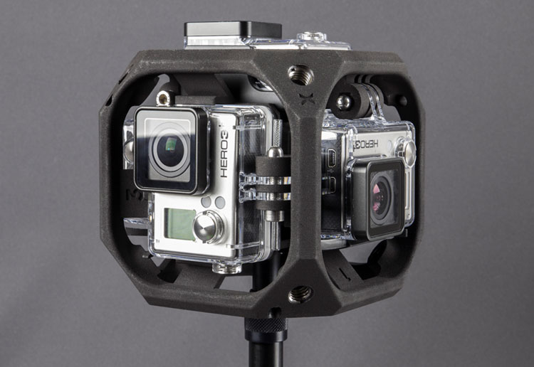 Rig Freedom 360 Explorer Plus per HERO4