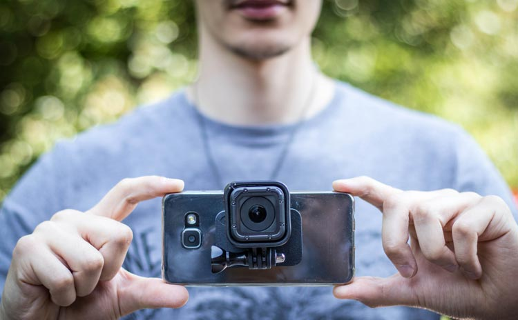 DreamPick Stick-It supporto universale per GoPro e Smartphone
