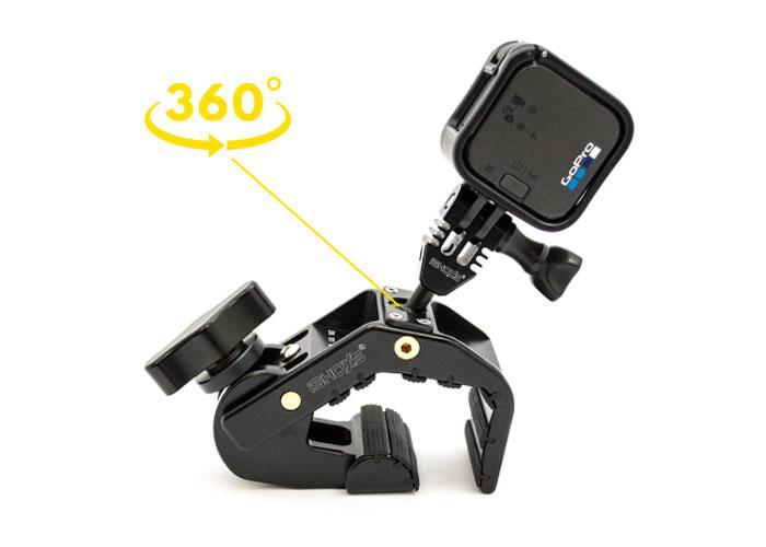 supporto a morsa universale per GoPro