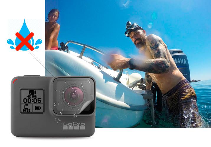 pellicola protettiva idrorepellente GoPro Black