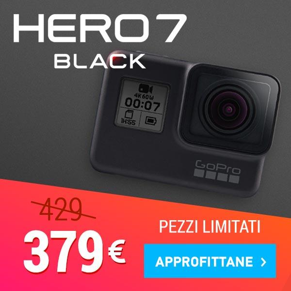 offerta videocamere gopro hero7