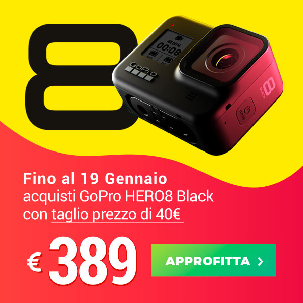 offerta gopro hero8 black