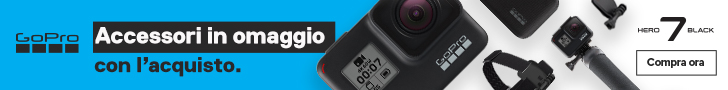 gopro hero 7 + accessori in omaggio