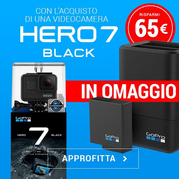 offerta videocamere gopro hero7 black