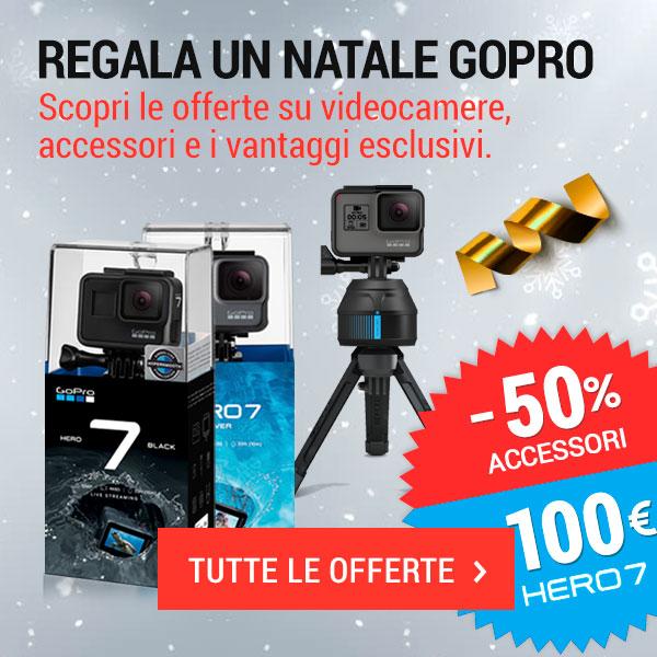 Regala un Natale GoPro | Offerte GoPro e vantaggi esclusivi