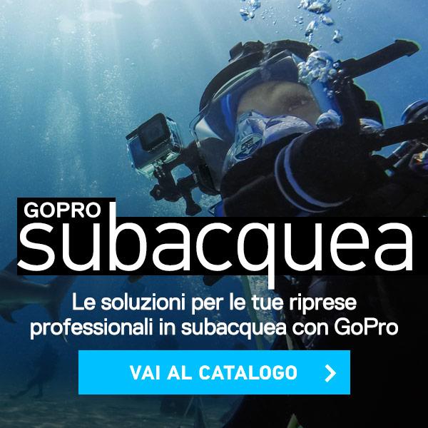 catalogo gopro per subacquea