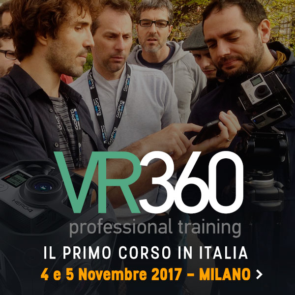 corsi video editing vr 360