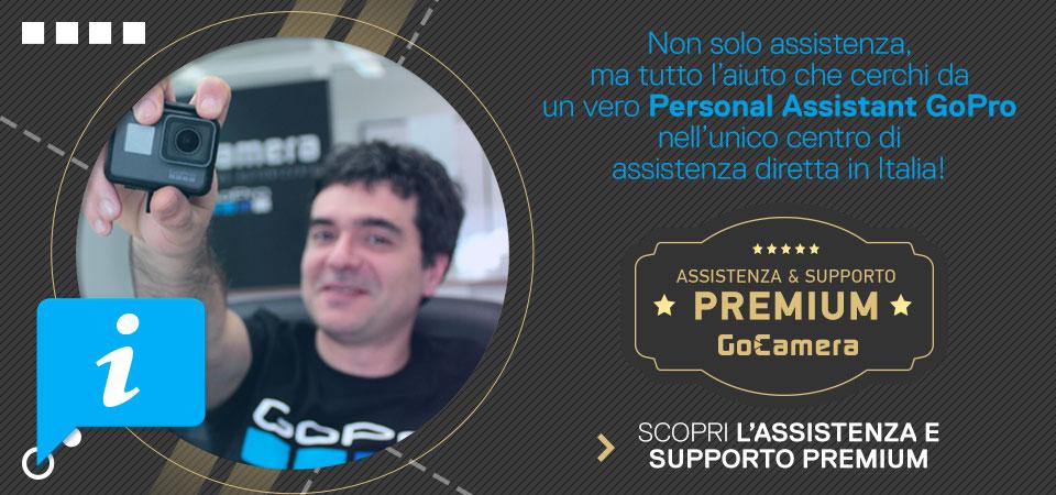 assistenza e supporto premium gopro