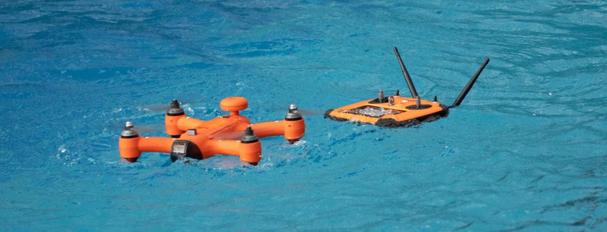 swellpro droni impermeabili