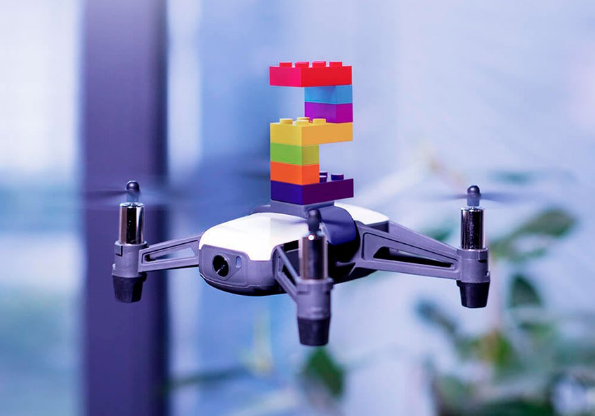 PGYTECH adattatore LEGO per RyzeTech Tello