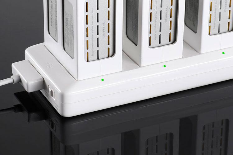 DJI caricabatterie multiplo Phantom 4